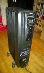The space heater I use in my tarantula room.