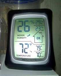 My all-purpose thermometer/hygrometer.