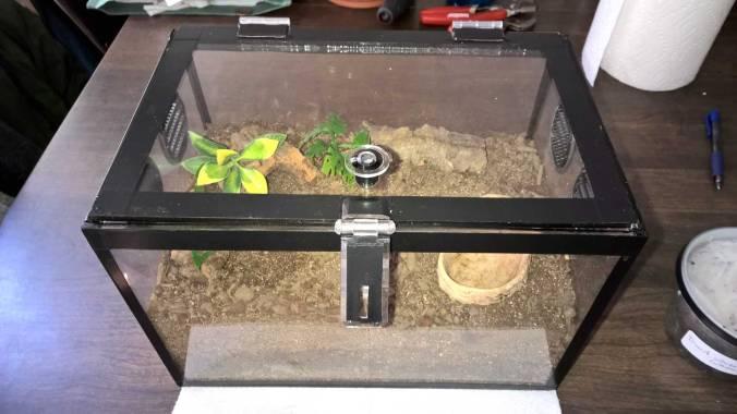 Enclosure-arrived-setup